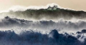 Theo Bosboom - Winter storm IJsland