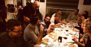 Enrico Cabras van popup restaurant Sardo