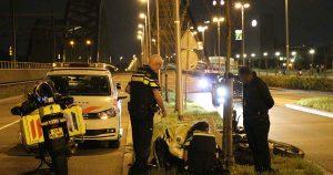 Motorrijder-raakt-gewond-na-aanrijding-met-auto3_foto_112mediautrecht