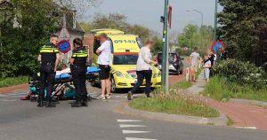 Scooterrijder-gewond-na-eenzijdig-ongeluk2_foto_112mediautrecht