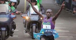 Leonard-Komon-tijdens-Utrecht-Marathon