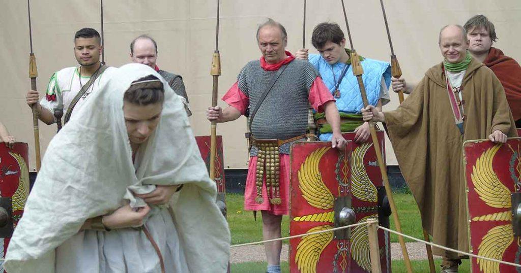 Romeinse bruid