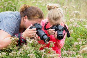 Workshop natuurfotografie voor ouders & kids op Steede Hoge Woerd (incl lunch) @ Steede Hoge Woerd