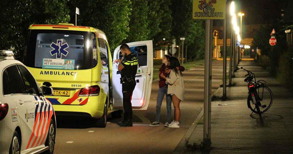 Tiener-op-fiets-naar-ziekenhuis-na-val-in-Leidsche-Rijn_foto_112mediautrecht