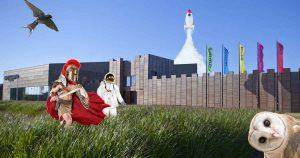 Vier je herfstvakantie in Castellum Hoge Woerd