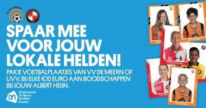 Albert Heijn (AH) Spaaractie lokale voetbalhelden   voetbalplaatjes
