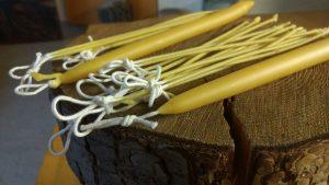 Kaarsen van bijenwas maken (27 dec, 10-12 uur) @ Steede Hoge Woerd