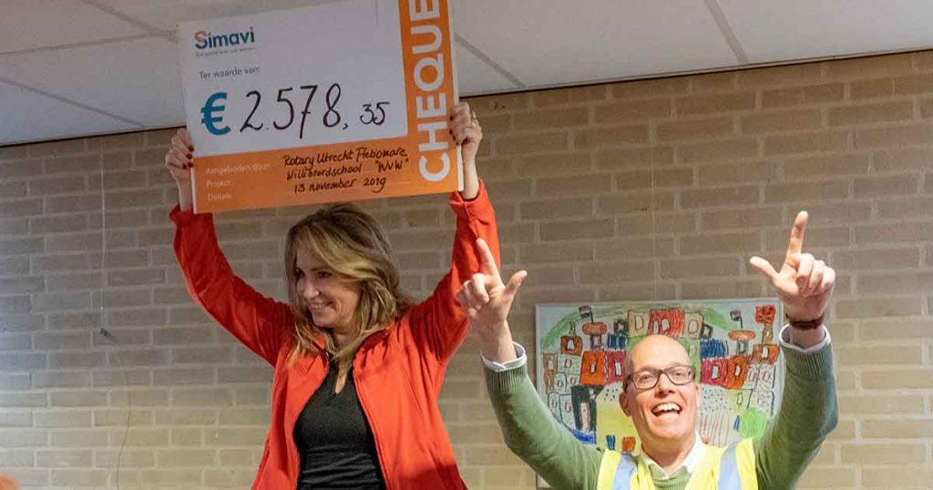 Willibrordschool haalt geld op voor drinkwater project