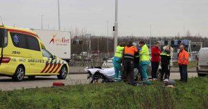 Bestuurster-snorscooter-gewond-na-aanrijding-met-auto-in-De-Meern_foto_112mediautrecht
