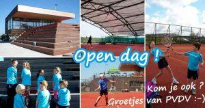 Maak kennis met tennis bij PVDV @ Sportpark Rijnvliet