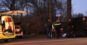 Aanrijding tussen scooterrijder en wielrenner_foto_112mediautrecht