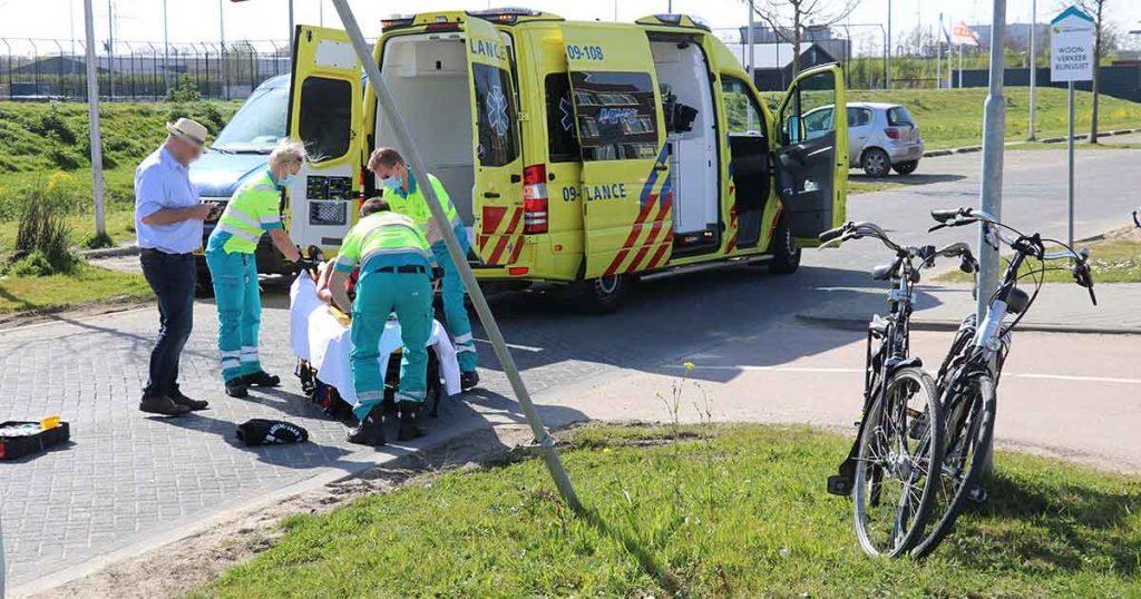 Fietsster gewond na botsing met andere fietser_1_foto_112mediautrecht