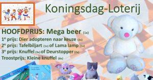 Stichting Dierenweide Vleuten start Koningsdag- Loterij
