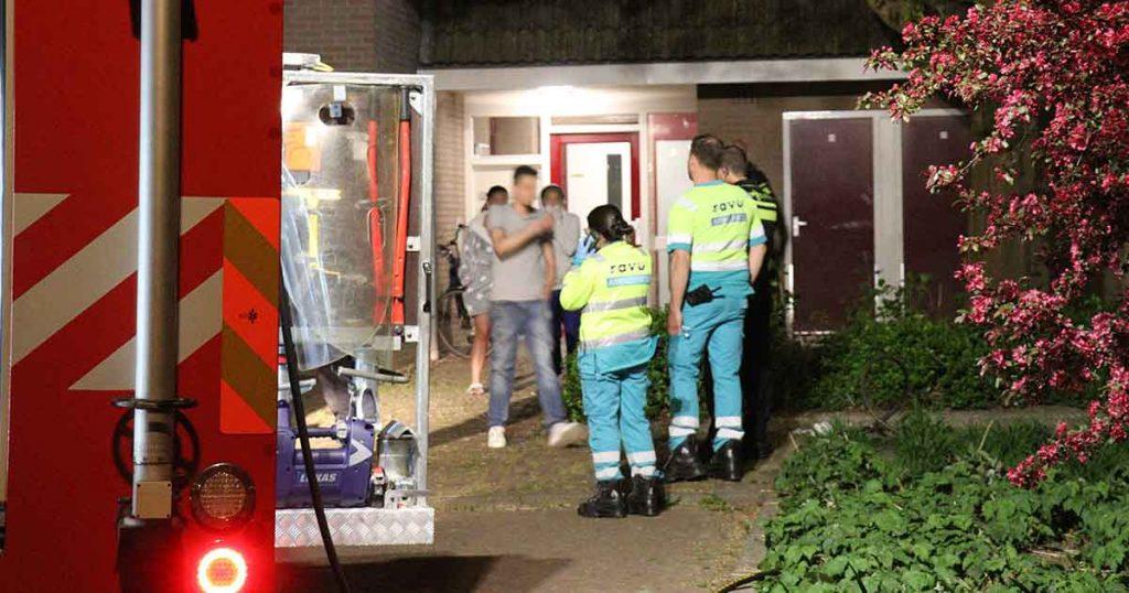 Woning fors beschadigd na brand in De Meern_1_foto_112mediautrecht