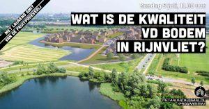 Wat is de kwaliteit van de bodem in Rijnvliet? @ Metaal Kathedraal
