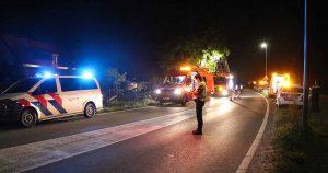 Hulpdiensten rukken massaal uit voor persoon te water in Harmelen, vrouw overleden
