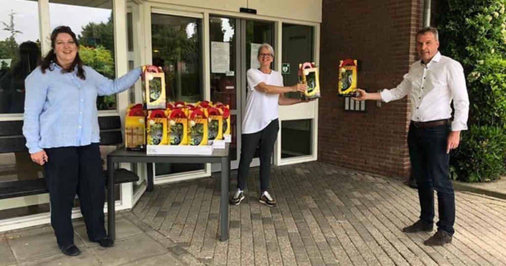 Rotary blijft bewoners van zorgcentra steunen