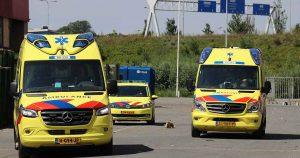 Bedrijfs ongeval bij Papier Recycling bedrijf in Leidsche Rijn