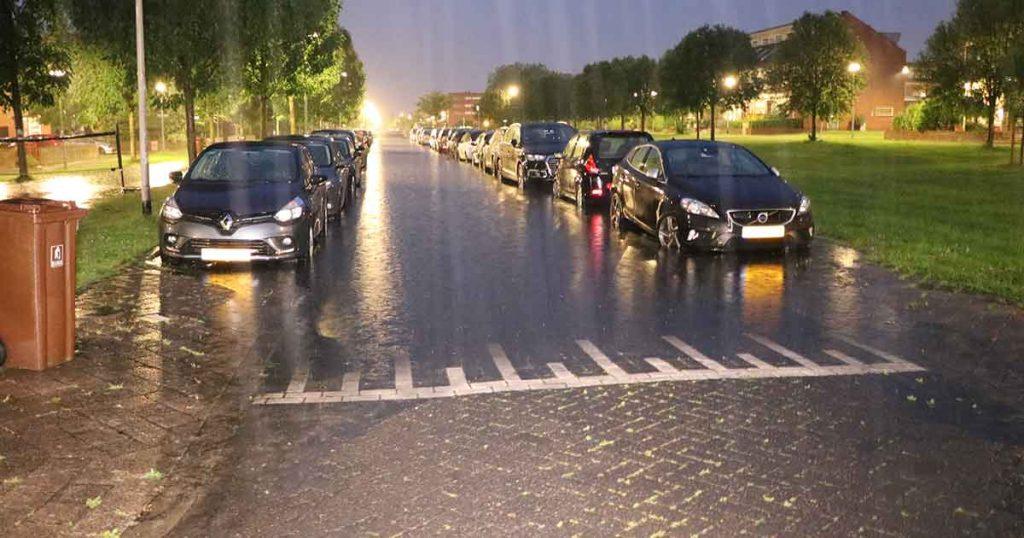 Noodweer veroorzaakt overlast onder andere in de wijk Veldhuizen3_foto_112mediautrecht