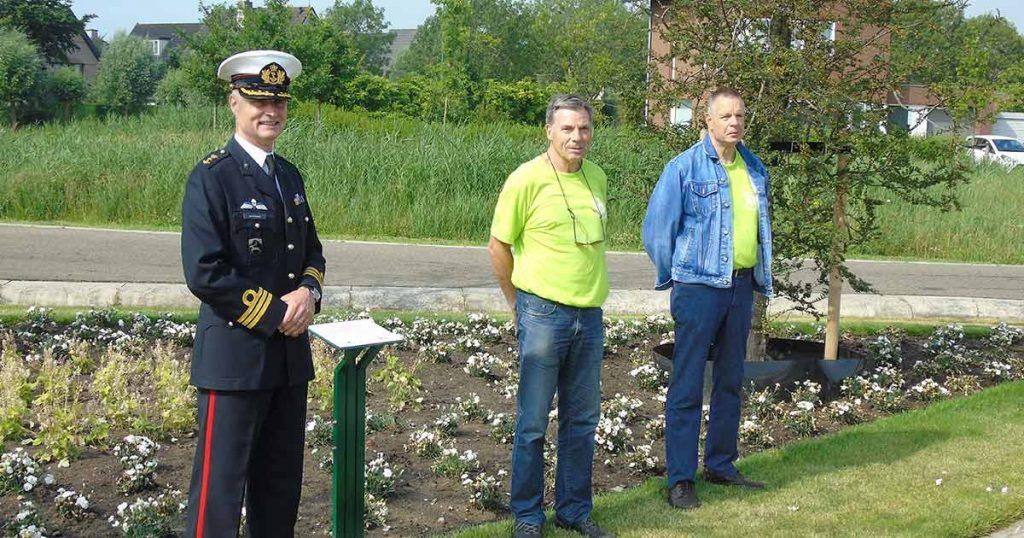 Veteranen Hans, Nico en Adri | Foto: Hans Peter van Rietschoten