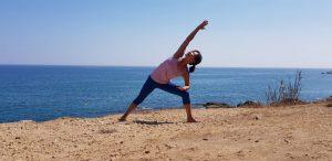 Hatha yoga op de tuin van Steede Hoge Woerd @ Steede Hoge Woerd