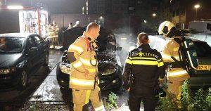 Auto deels verwoest door brand in Leidsche Rijn_5_foto_112mediautrecht