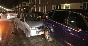 Dronken automobilist ramt geparkeerde auto's in De Meern_3_foto_112mediautrecht