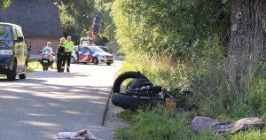 Motorrijder gewond na eenzijdig ongeval_1_foto_112mediautrecht