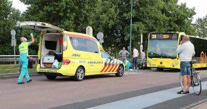 Scooterrijder botst met Stadsbus in De Meern_2 _foto_112mediautrecht