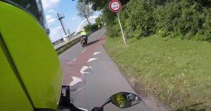 Spectaculaire politie achtervolging die vluchtauto ramt_foto_politievlogger_Jan-Willem
