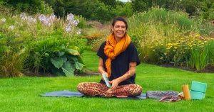 Yin-yoga in de tuin van Steede Hoge Woerd @ Steede Hoge Woerd