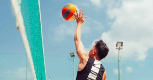 volleybal - foto: Angelo Pantazis