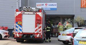 Brandweer rukt met spoed uit vanwege man met vastzittende duim