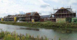 Nieuwbouwwoningen in Rijnvliet | Foto: Hans Peter van Rietschoten