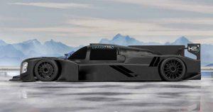 Merenees werkt aan ontwerp van 's werelds snelste waterstof raceauto