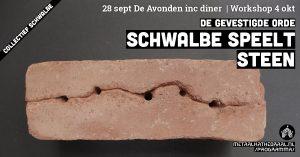 De Avonden incl. diner   Schwalbe speelt Steen @ Metaal Kathedraal