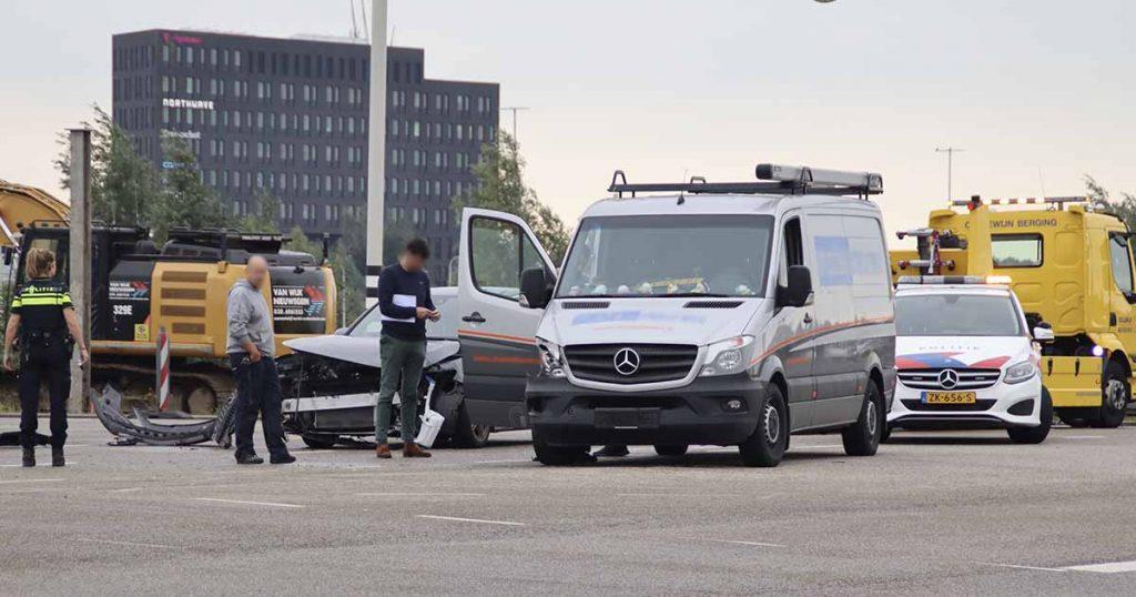 Aanrijding op de Stadsbaan in Leidsche Rijn_3_foto_112mediautrecht