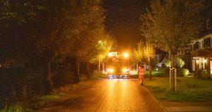 Oliespoor over wegdek van honderden meters in De Meern_3_foto_112mediautrecht