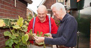ouderen senioren tuin groen