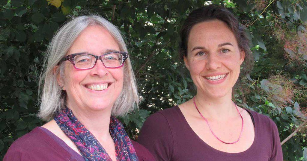 Marian Geurtsen en Sophie Albers