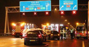 A2 bij Nieuwegein afgesloten na dodelijk ongeluk_1_foto_112mediautrecht