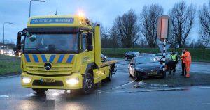 Auto ramt verkeerslicht in De Meern_3_foto_112mediautrecht