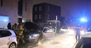 Auto zwaar beschadigd door brand_5_foto_112mediautrecht