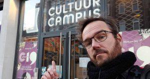 Selfie van coordinator Antwan Cornelissen van Club Wat Nou