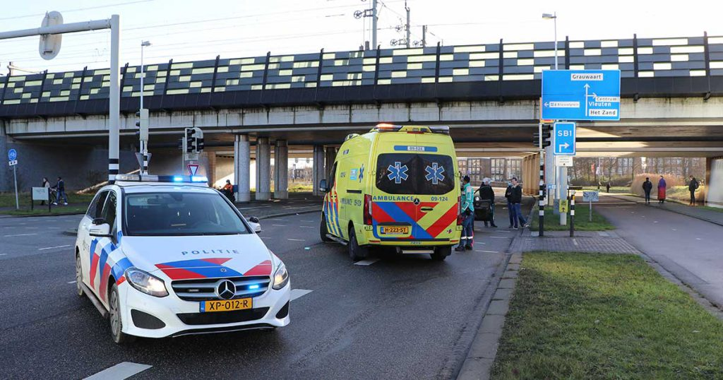 Man raakt gewond na aanrijding in Leidsche Rijn_1_foto_112mediautrecht