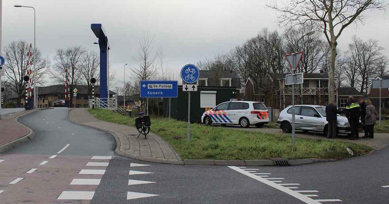 Aanrijding-tussen-fietser-en-auto-in-Harmelen_foto_112mediautrecht