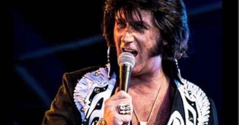 Elvis Presley imitator Frank Anthony