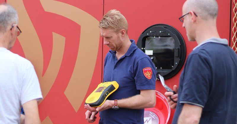 Brandweer AED
