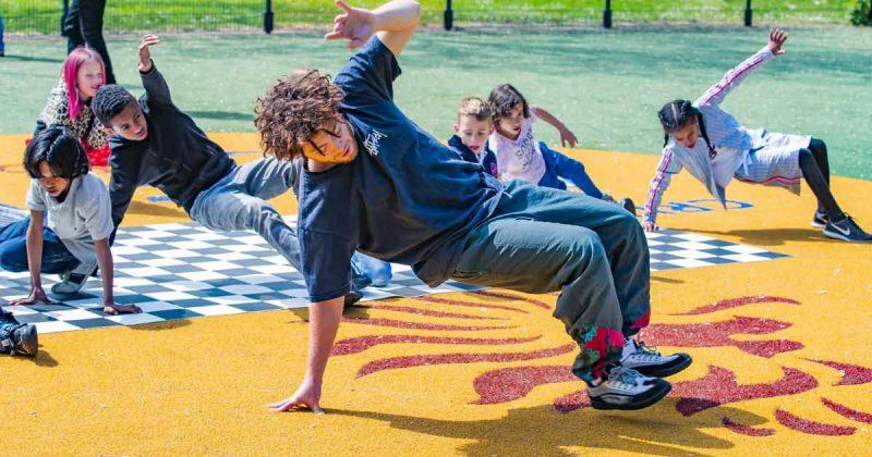 Jongerenworkshop breakdance bij Teenspot