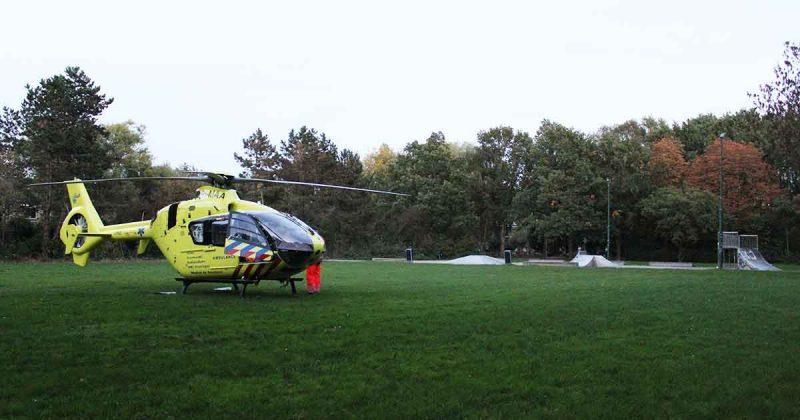 Massale-uitloop-in-De-Meern-na-komst-traumahelikopter1-foto_112mediautrecht